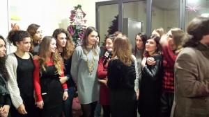 clara intervistata auguri sigel 2015
