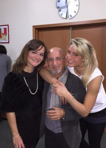 con mary e antonella in casa sigel 2014