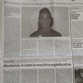 Parlano di noi….il Giornale di Sicilia presenta Silvia Agostino